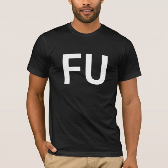 FU Buddy shirt spell out words with your buddies!