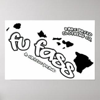 Fu Fass Racing Poster