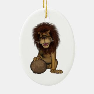 Fu Lion Christmas Ornament