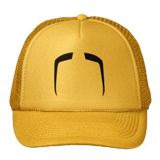 Fu Manchu Mustache Mesh Hats