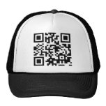 FU QR Code Trucker Hat