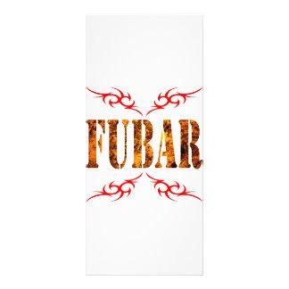 FUBAR RACK CARD DESIGN