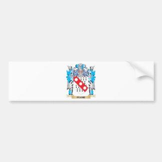 Fuche Coat of Arms - Family Crest Bumper Sticker