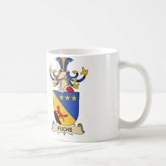 Fuchs Family Crest Basic White Mug