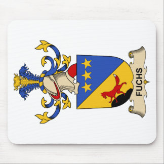 Fuchs Family Crest Mouse Pad