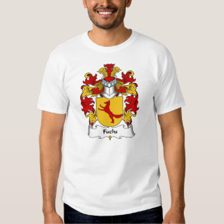 Fuchs Family Crest Tee Shirts