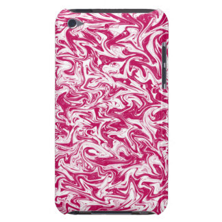 Fuchsia Abstract Swirl Barely There iPod Cover