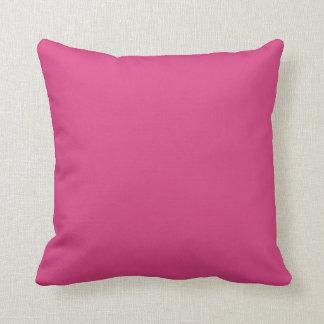 Fuchsia Bright Pink Scatter  Throw Cushion