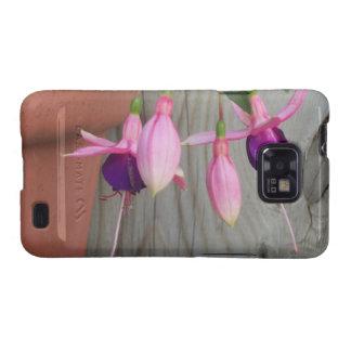 Fuchsia Galaxy SII Covers