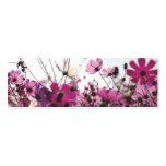 Fuchsia Chamomile Bookmark (Customisable)