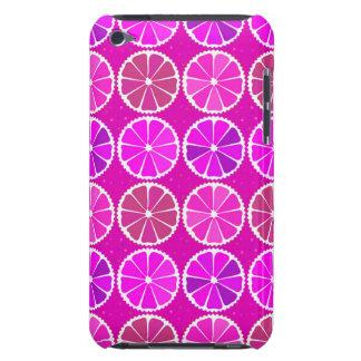Fuchsia citrus pattern iPod touch covers