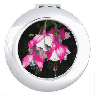 Fuchsia Compact Mirror