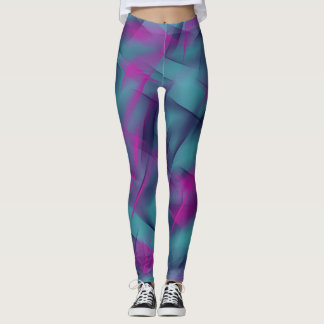 Fuchsia dance leggings