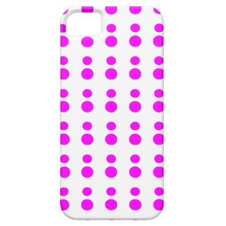Fuchsia dots Iphone Case iPhone 5 Cases