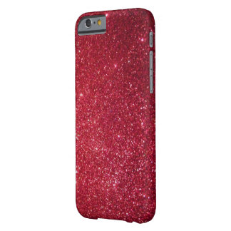 FUCHSIA GLITTER BARELY THERE iPhone 6 CASE