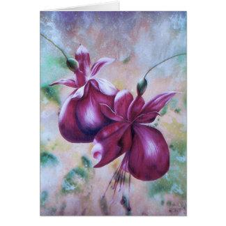 Fuchsia Greeting Card