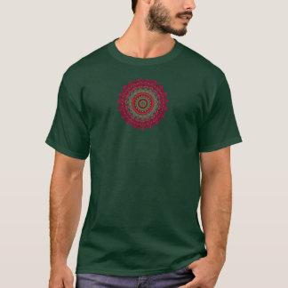 Fuchsia Kaleidoscope Mandala T-Shirt