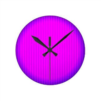 Fuchsia LED lamp Clock