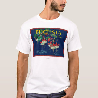 Fuchsia Lemon LabelLa Verne, CA T-Shirt