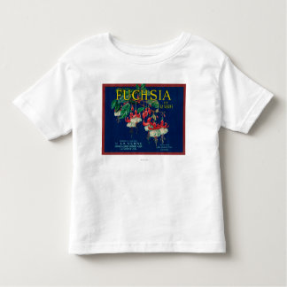 Fuchsia Lemon LabelLa Verne, CA Toddler T-Shirt