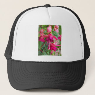 Fuchsia Paula Jane Trucker Hat