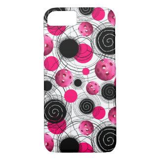 Fuchsia Pickleballs iPhone 8/7 Case