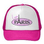 Fuchsia Pink Houndstooth; Paris Cap