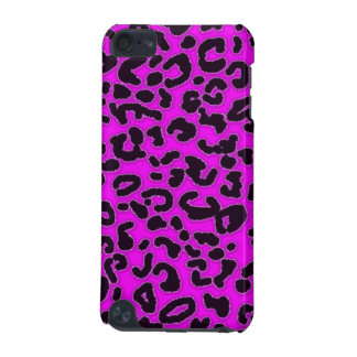 Fuchsia, Pink Leopard Animal Print iPod Touch 5G Cover