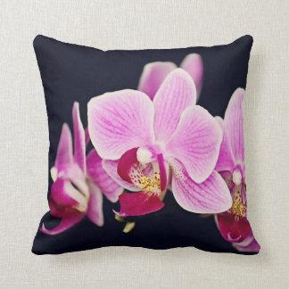 Fuchsia Pink Orchid Cushion