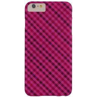 Fuchsia Plaid - Custom iPhone 6 Plus Case