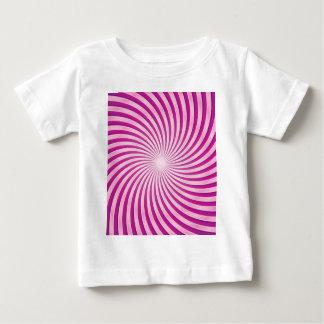 Fuchsia Swirl Tee Shirts