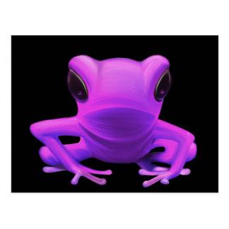 Fuchsia Tree Frog Postcard