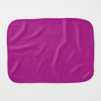 FUCHSIA WAS MAGENTA (a solid name-changed color) ~ Baby Burp Cloths