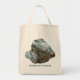 Fuchsite for Creativity Tote Bag