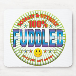 Fuddled Totally Mouse Pad