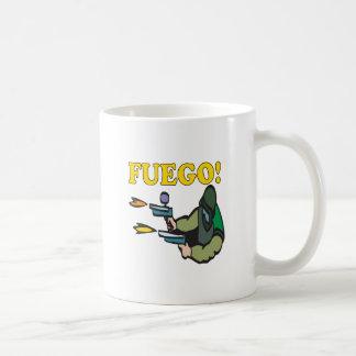 Fuego Basic White Mug