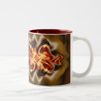 Fuego Two-Tone Coffee Mug
