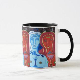 Fuego y Hielo Mug