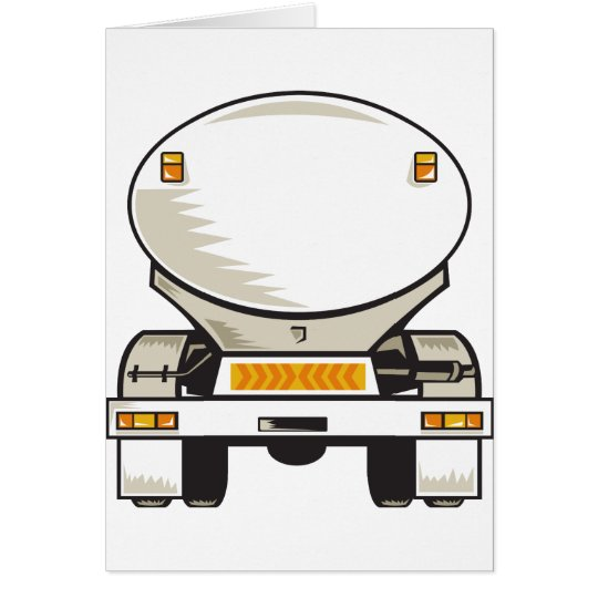 fuel gasoline tanker truck card