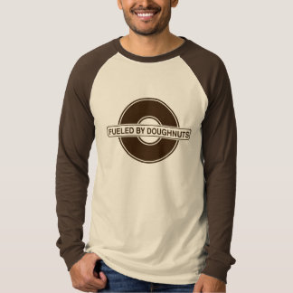 Fueled by Doughnuts - t-shirt