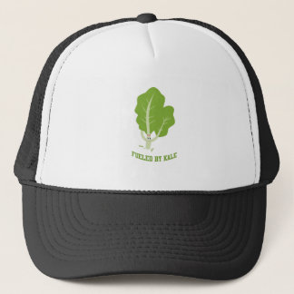Fueled by Kale running kale Trucker Hat