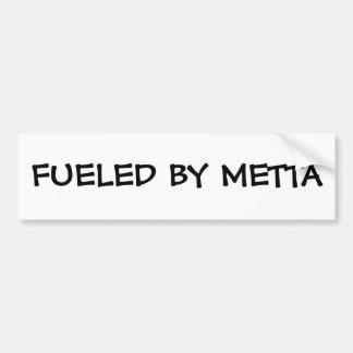 Fueled by Metta Bumper Sticker