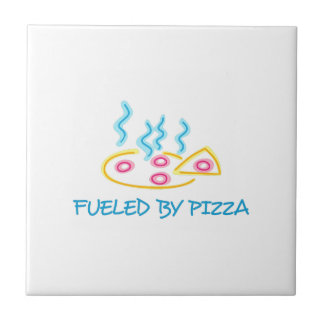Fueled By Pizza Tile