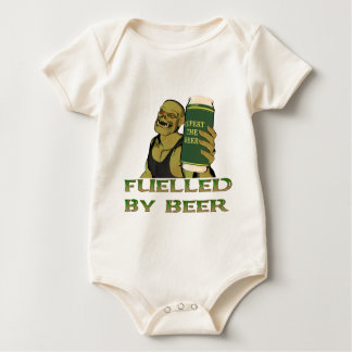 Fuelled by beer baby bodysuit