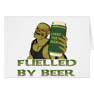 Fuelled by beer card