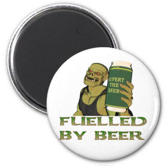 Fuelled by beer magnet