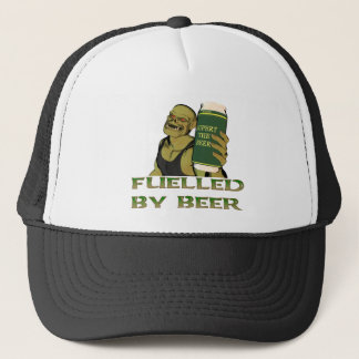 Fuelled by beer trucker hat