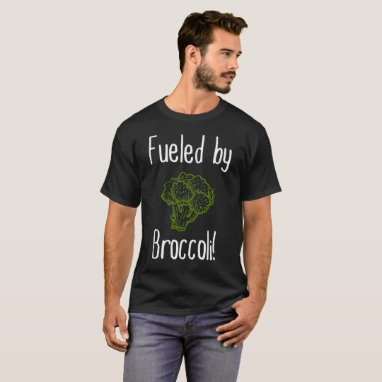 Fuelled By Broccoli Vegan Vegetarian Vegetable T-Shirt