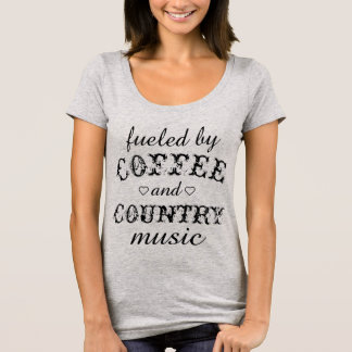 Fuelled by Coffee & Country Music T-Shirt