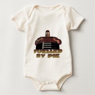 Fuelled by pie baby bodysuit